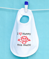 BIB - I LOVE MUMMY THIS MUCH