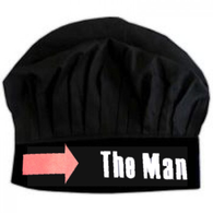 12. THE MAN CHEF HAT