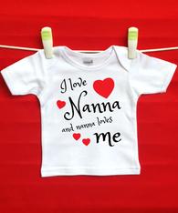 BABY TEE - NANNA AND ME
