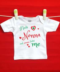 BABY TEE - NONNA AND ME (ITALIAN)