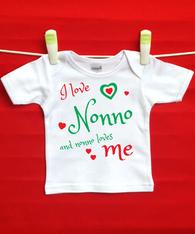 BABY TEE - NONNO AND ME (ITALIAN GRANDPA)