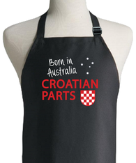 CROATIAN PARTS BORN IN AUSTRALIA APRON