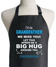 GRANDFATHER HUG APRON