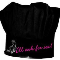 13. COOK FOR SEX CHEF HAT