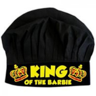 07. KING OF THE BARBIE CHEF HAT