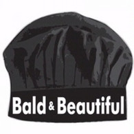 02. BALD & BEAUTIFUL CHEF HAT
