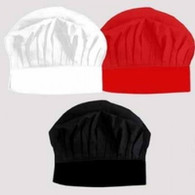 16. UNPRINTED CHEF HAT - WHITE