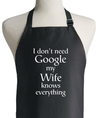 GOOGLE WIFE APRON