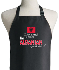 ALBANIAN RECIPE APRON