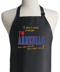 ARMENIAN RECIPE APRON