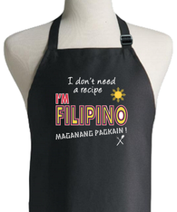 FILIPINO RECIPE APRON