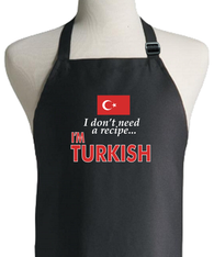 TURKISH RECIPE APRON
