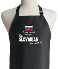 SLOVAKIAN RECIPE APRON