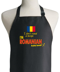 ROMANIAN RECIPE APRON
