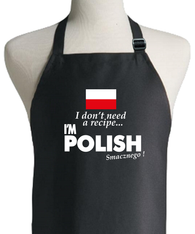POLISH RECIPE APRON