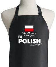 POLISH RECIPE APRON