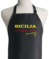 ITALIAN SICILIA APRON