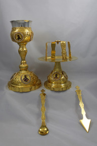 Chalice- Chalice Set with crystals