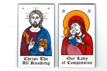 Magnet- Christ & Theotokos Magnet Set