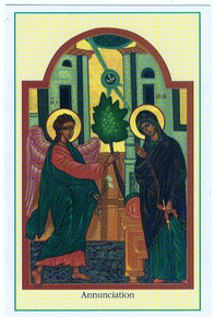 "Holy Card- ""Annunciation"" Holy Card pack"