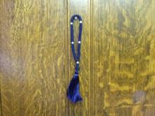 Prayer Rope- 50 Knot (blue)