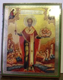 Icon- St. Nicholas of Mozhaisk (1)