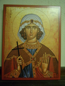 Icon- St. Barbara - x-small