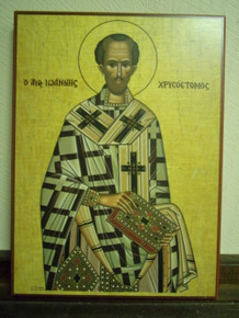 Icon- St. John Chrysostom - small
