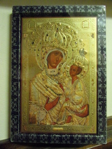 Icon- Tikvin Mother of God