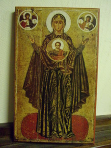 Icon- Theotokos of The Sign of Yaroslav - large