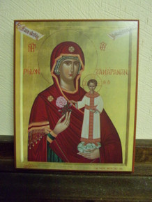 Icon- Panagia (Unfading Rose) - medium