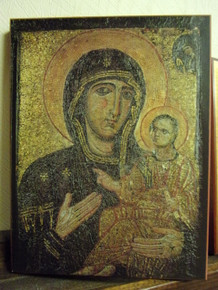 Icon- Theotokos (Pamakaristos)