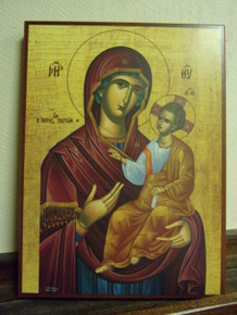 Icon- Panagia (Hope of The Faithful) - medium