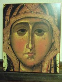 Icon- Theotokos of Yaroslav (Detail)