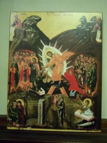 Icon- Resurrection (Dionysiou)