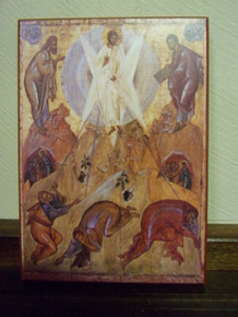 Icon- Transfiguration of the Lord (3)
