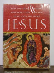 "Greeting Card- Set of ""You Shall Call His Name Jesus"" Christmas Cards (set of 15)"