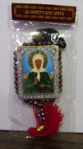 Icon- Beaded Icon of St. Matrona