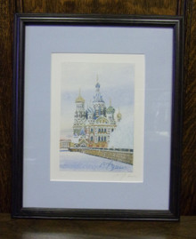 Wall Art- Russian Church in Winter (1)