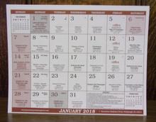 Calendar-2019 Ruthenian Calendar Pad