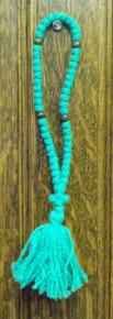 Prayer Rope- 50 Knot Green Prayer Rope