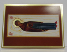 "Greeting Card- Set of ""The Dormition Of The Mother Of God"" Rest Cards (set of 10)"