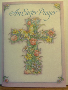 "Greeting Card- ""An Easter Prayer"" Easter Card"