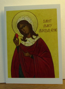 "Greeting Card- ""St. Mary Magdalene"" Easter Card"