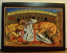 """Greeting Card- """"St. Ignatius Of Antioch"""" Note Card"""