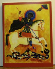 "Greeting Card- ""St. George"" Note Card"
