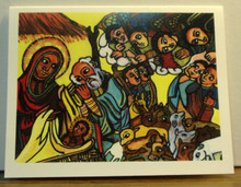 "Greeting Card- ""Nativity"" Note Card"