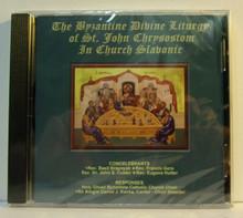 CD- The Byzantine Divine Liturgy of St. John Chrysostom in Church Slavonic