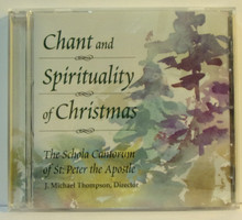 CD- Chant and Spirituality of Christmas