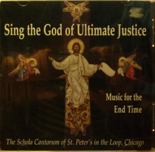 CD- Sing The God Of Ultimate Justice: Music For The End Time